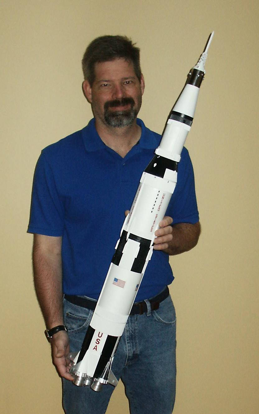 Web Com Reviews >> Display Image - Mike Greenwood's Saturn V