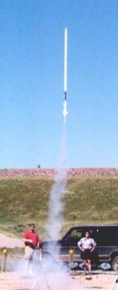 Custom Flying Model Rocket Kit Equinox 10016
