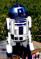R2D2 on the launch pad